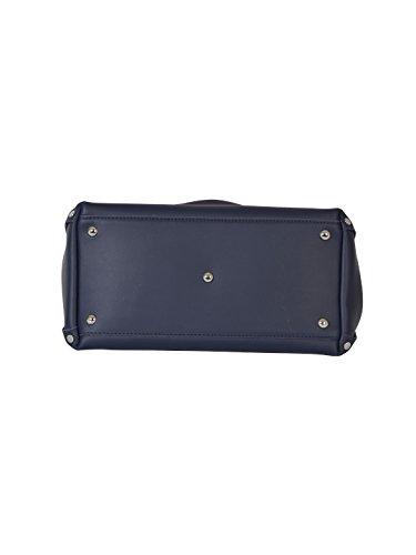 Zanellato Borsa A Mano Donna 61385135 Pelle Blu