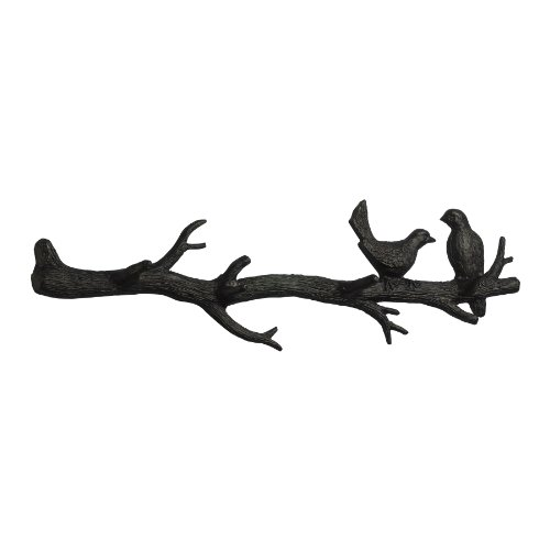 Cyan Design 01868 Bird Branch Coat Hook Ideal Gift for Wedding, Floral / Floor Vase, Party, Home Decor, Office, Spa by Cyan Design (Image #1)