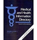 img - for Medical and Health Information Directory: Vol. 3 (3 part set) (Medical and Health Information Directory Vol. 3: Health Services Including Clinics, ... Programs, and Clinical/Diagnostic Services) book / textbook / text book