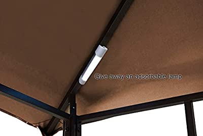 MASTERCANOPY Grill Gazebo 8 x 5 Canopy,L-GZ238PST-11