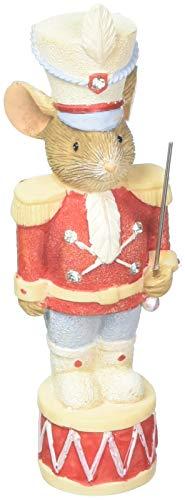 "Enesco Heart of Christmas Nutcracker Prince. Figurine, 3.23"", Multicolor"