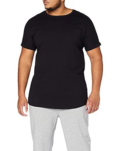 Urban Classics Long Shaped Turnup tee Camiseta para Hombre