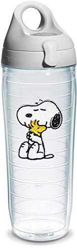 (Tervis Peanuts Snoopy and Woodstock Water Bottle - 1140881 , Clear)