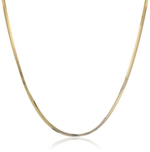 Gold Plated Chain Collar Bib Temperament Statement Necklace