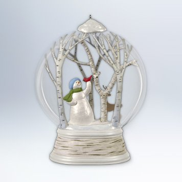 Hallmark 2012 Woodland Wonderland Snowman Ornament