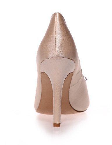 ShangYi Chaussures de mariage - Noir / Bleu / Rose / Violet / Ivoire / Blanc / Champagne - Mariage / Soirée & Evénement - Bout Pointu - Talons - , 4in-4 3/4in-ivory