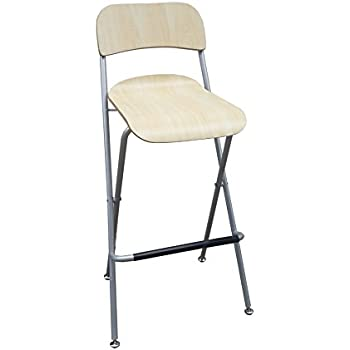 Amazon Com Fixturedisplays Folding High Chair Bar Stool