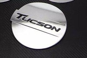 Hyundai Tucson Tucson Bj 2015 2016 cromo Tuning Reservorio Tapa Black Label Apertura accesorios