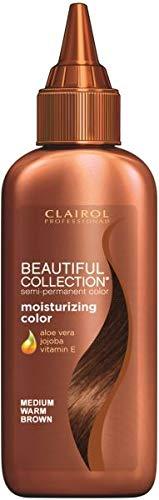 Clairol Professional Beautiful Collection Semi-permanent Hair Color, Medium Warm Brown