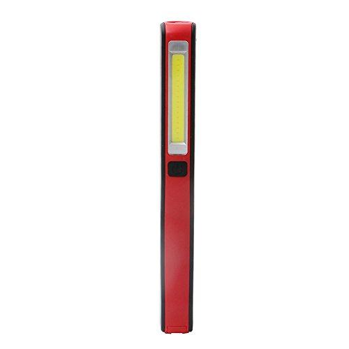 Portable Lampe D/'Inspection Cob LED USB Rechargeable Magnétique Stylo Torche