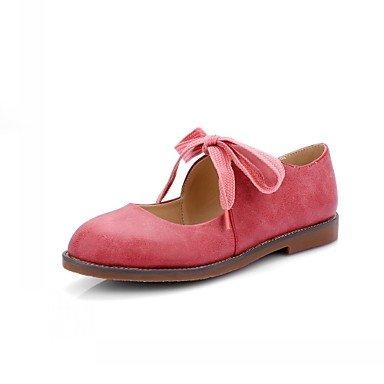 al y comodidad talón sintética zapatos de diseño caqui aire las pisos libre elegante Cómodo soporte Coral piel soporte otoño Otr de mujeres cordones gris invierno primavera de gris verano de Casual vestido 6w1ndOqx4