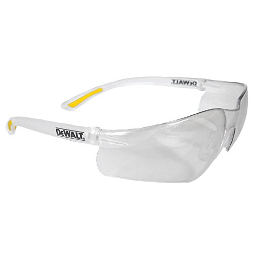 - Dewalt DPG52-1C Contractor Pro Clear High Performance Lightweight Protective Safety Glasses