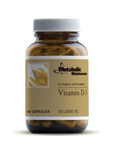 Metabolic Maintenance - Vitamin D-3 - 10.000 IU 60 caps [Health and Beauty] by Metabolic Maintenance by Metabolic Maintenance