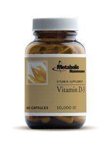 Metabolic Maintenance - Vitamin D-3 - 10.000 IU 60 caps [Health and Beauty] by Metabolic Maintenance