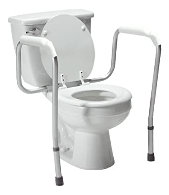 Amazon.com: Lumex 6465A-1 Versaframe Toilet Safety Rail