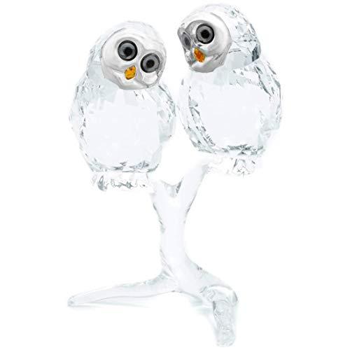 SWAROVSKI Feathered Beauties Owl Couple