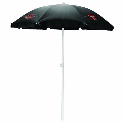 NCAA Texas Tech Red Raiders Portable Sunshade Umbrella by Picnic Time by PICNIC TIME