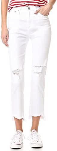 AG Women's The Phoebe High Waisted Tapered Jeans