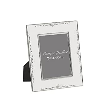 Amazon.com - Waterford Monique Lhuillier Modern Love Picture Frame ...