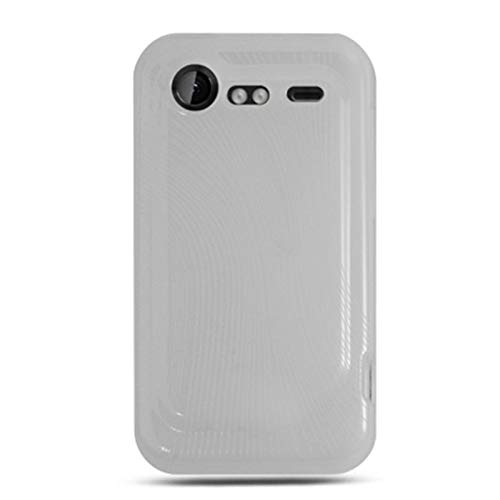 Insten TPU Rubber Candy Skin Case Cover Compatible with HTC Droid Incredible 2 6350, Clear