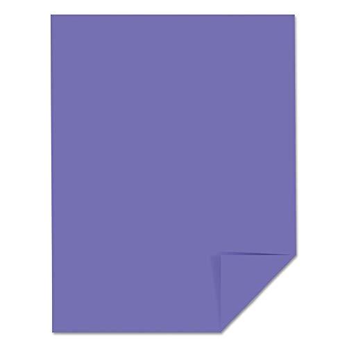 (Astrobrights 22091 Color Cardstock, 65lb, 8 1/2 X 11, Venus Violet, 250 Sheets )