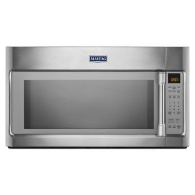 2.0 Cu. Ft. 1000W Over-the-Range Microwave with Sensor Cooking Finish: Stainless Steel