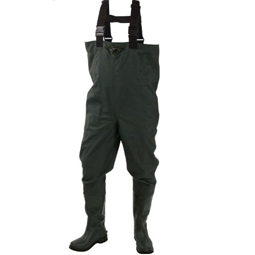 Frogg toggs men 39 s cascades 2 ply bootfoot chest waders for Fishing waders amazon