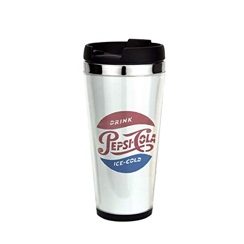 (Pepsi-Cola Ice Cold, Drinking Cup, Coffee Mug,Travel Mug 16oz)