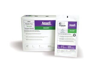 Ansell 5785003 Ansell Encore Powder-Free Sterile Surgical Gloves, Size 7, Case of 200 by Ansell (Image #1)