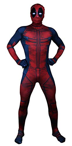 VSVO Kids 3D Spandex Halloween Costume Cosplay Bodysuits (Children Small, 3D Red)]()