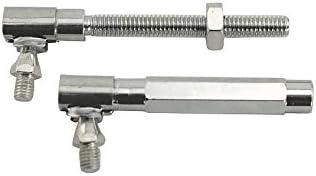 MACs Auto Parts 41-39055 Accelerator Linkage Rod Includes 2 Ball Studs Fully Adjustable Falcon 260 /& 289 V8