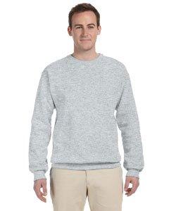 (Jerzees Men's 562MR Crew Neck Sweatshirt, Ash, Large)