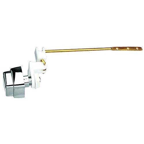 Plumb Pak PP835-65 Side Mount Flush Lever Push Button, Polished Chrome, 8-Inch Arm,