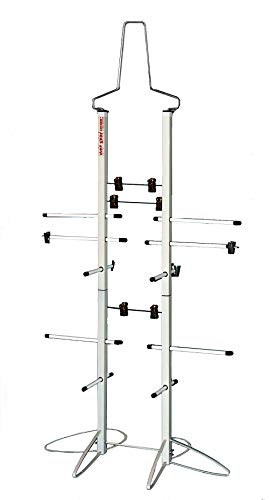 Hockey Drying Rack - Wet Gear-Hockey Equipment Dryer Rack: Metal Locker Deluxe Model