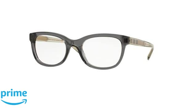 a780d2e00a62 Burberry Women's BE2213 Eyeglasses Dark Grey 53mm at Amazon Men's Clothing  store: