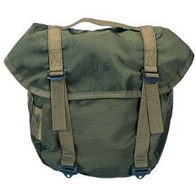 Rothco Genuine GI Nylon Butt Pack, Olive Drab - Nylon Butt Pack