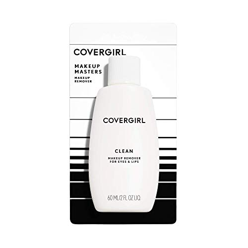 COVERGIRL Clean Makeup Remover for Eyes & Lips, 2 oz (Packaging May Vary) Old Version (Best Drugstore Eye Makeup Remover For Waterproof Mascara)