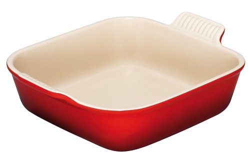 Small Square Baking Dish - Le Creuset Heritage Stoneware 9