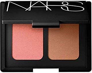 NARS Limited Edition Blush Bronzer Duo in Orgasm - Peachy Pink Shimmer and Laguna - Sheer Light Brown - for All Skintones 0.35 oz 10.5 grams by NARS