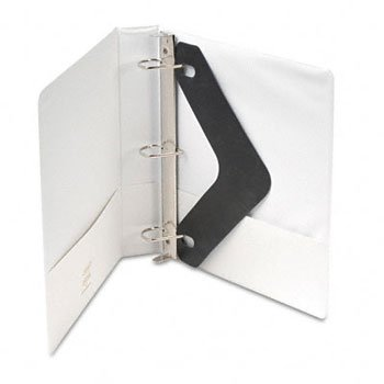 WLJ38534W - Wilson Jones Heavy-Duty D-Ring Vinyl View Binder by Wilson Jones