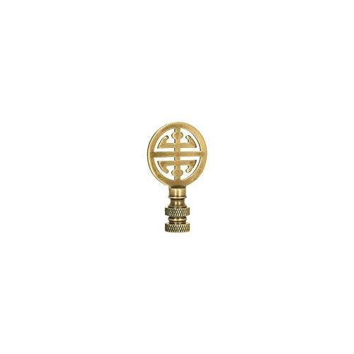 Antique Brass Asian Classic Finial by Finial Showcase (Image #2)