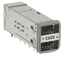 I/O Connector, 76 Contacts, Receptacle, ZQSFP+, Through Hole, 171565 Series, PCB Mount