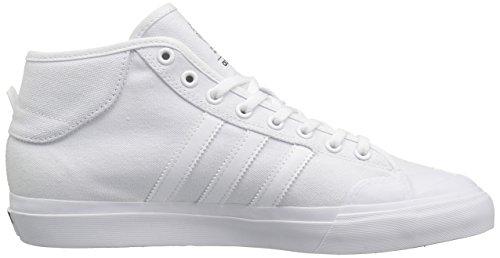 Blanc adidas Chaussures Mid Skate Blanc White Blanc de 8 Matchcourt SwqF4wnP