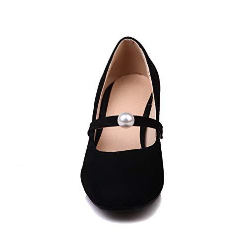 AN DGU00469 5 EU Noir Femme Sandales Compensées 36 Noir rvxwpqrd