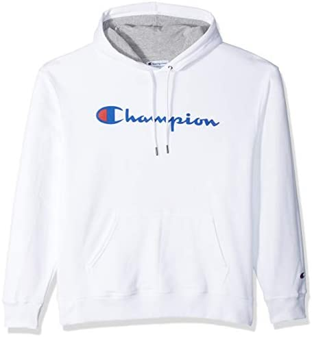 Champion Mens Powerblend Graphic Hoodie Hooded Sweatshirt