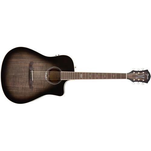 Fender T-Bucket 300 Acoustic Electric Guitar with Cutaway, Rosewood Fingerboard - Moonlight (Blue Burst Acoustic Guitar)