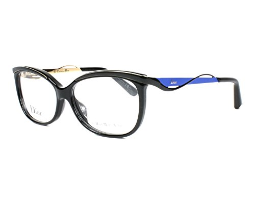 Optical frame Christian Dior Acetate - Metal Shiny Black - Matt Blue (CD3279F (Christian Dior Optical Frames)