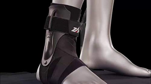 Zamst A2-DX Strong Support Ankle Brace, White, Medium - Left by Zamst (Image #1)
