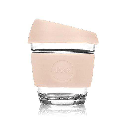JOCO Glass Reusable 8oz Coffee Cup (Sandstone)