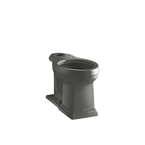 (Kohler K-4799-58 Tresham Comfort Height Elongated Toilet Bowl, Thunder)